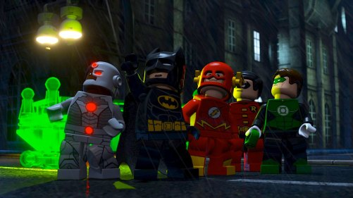 Other superheroes make Lego appearances too.