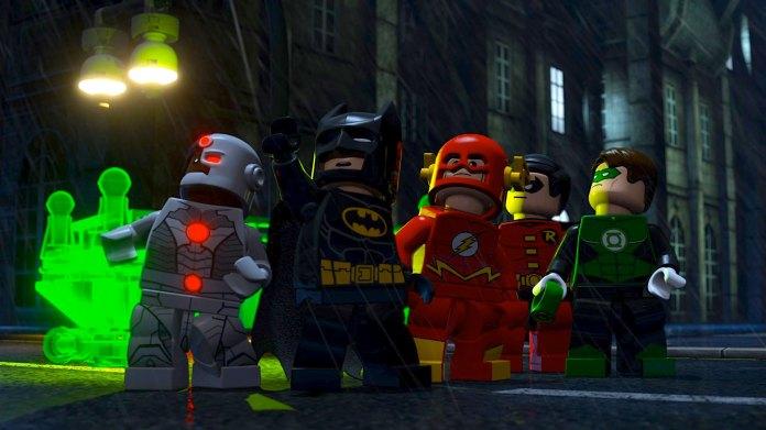 Other superheroes make Lego appearances too.