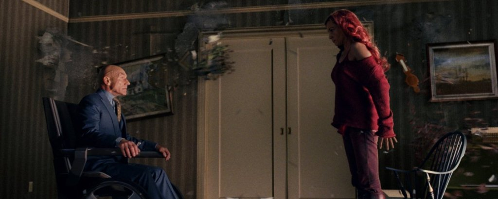 Dark Phoenix/Jean Grey (Famke Janssen) kills Xavier in 2006's