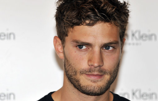 However, I will admit that Jamie Dornan is cute, especially with some scruff.
